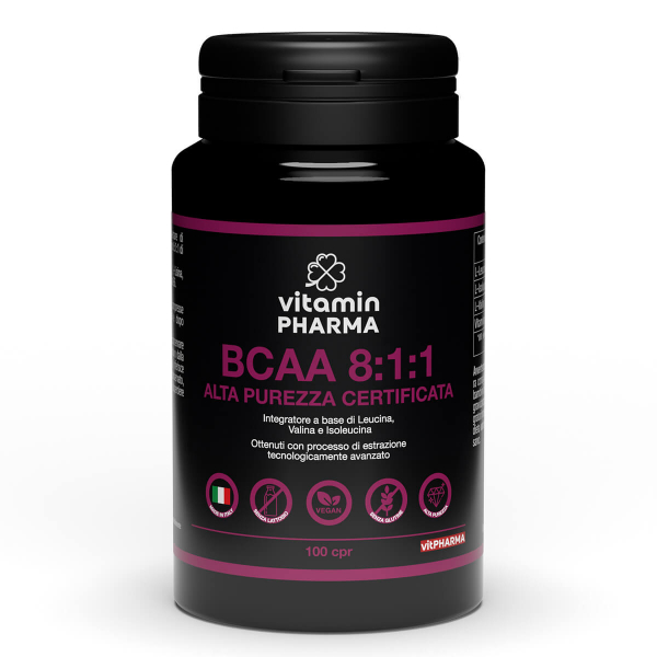 BCAA 8: 1: 1 HIGH PURITY BRANCHED AMINO ACIDS